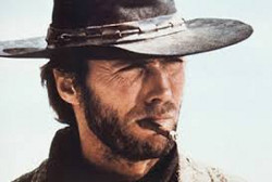 Clint Eastwood, a fan of Tuscan cigars