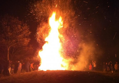 Fall fire & food celebrations in Maremma