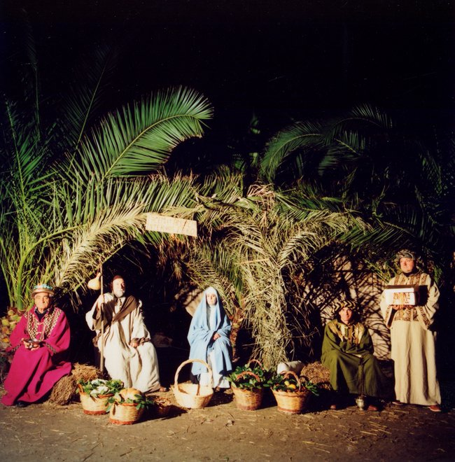 porto ercole - nativity scene