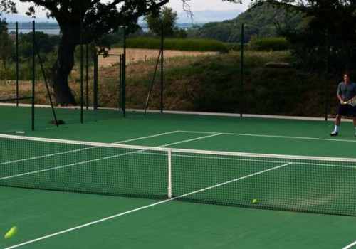 Tennis in Wimbledon? Roland Garros? No… in Maremma!