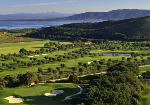 Golf Villas in seaside Tuscany
