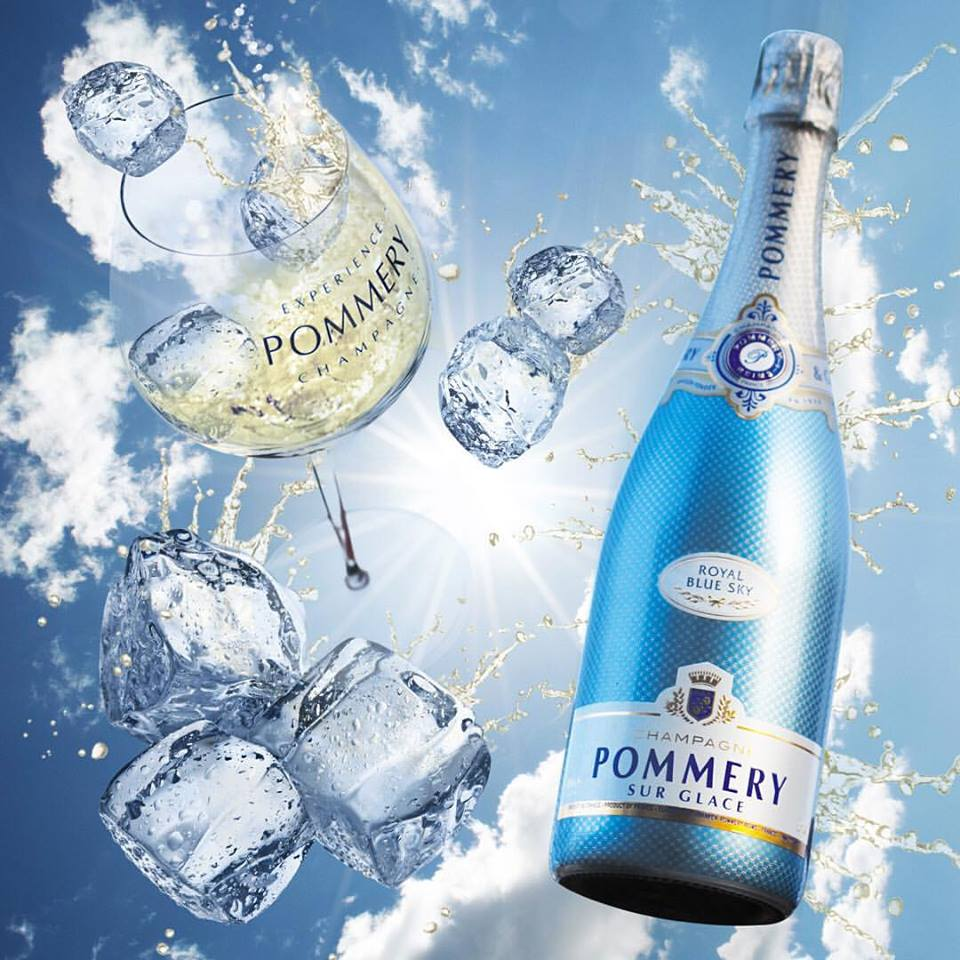 Royal Blue Sky - the new Pommery Experience