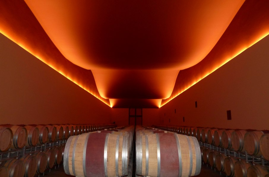 Ammiraglia Winery, Design in Tuscany