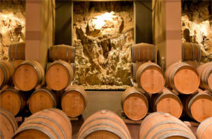 Antinori Winery in the rocks, Tuscany