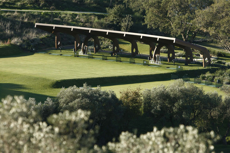 Driving Range in Tuscany, Argentario Golf Club