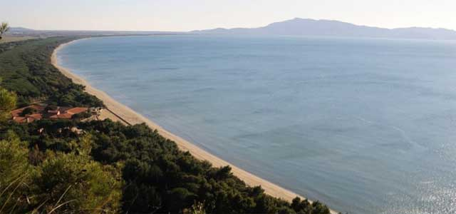 Argentario Giannella beach Tuscany