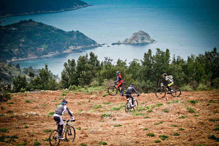 Cycle tours in Maremma Tuscany: Argentario