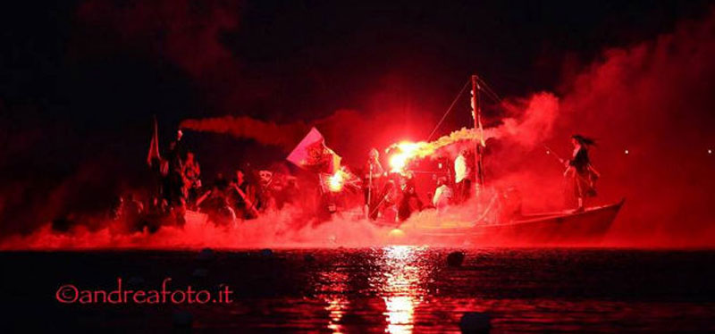 Night of the Pirates, Porto Ercole, Tuscany
