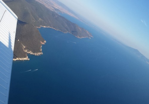 Flying over Argentario & Maremma: Piper Excursion