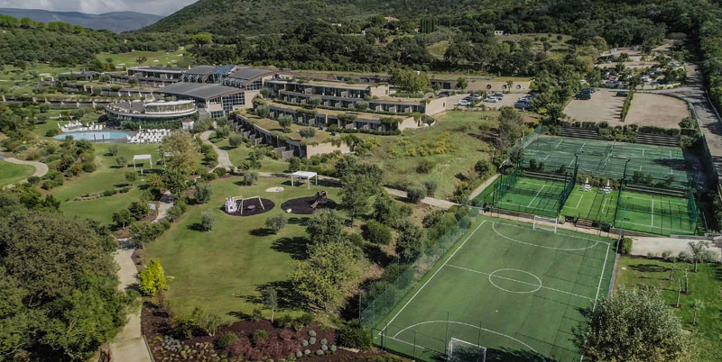 Padel Hotel in Tuscany Sports Resort Italy