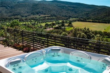 Maremma Cottage - hot tub 2