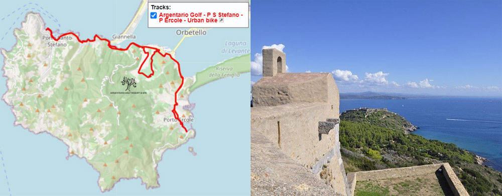 argentario bicycle routes