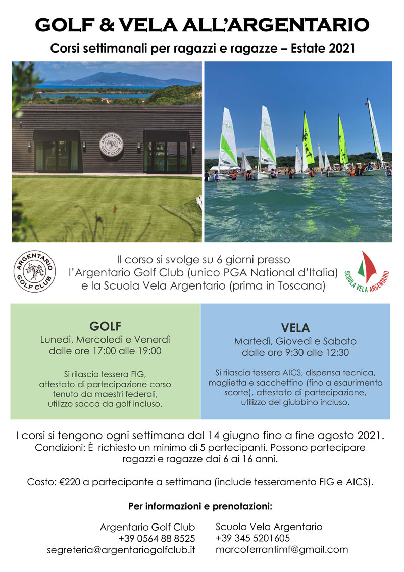 estate corso vela e golf argentario